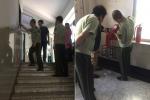 辽中消防大队对区内高考考点进行消防安全排查整治 - 沈阳市公安局