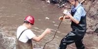 停水了?怒江公园内一供水主管线爆裂 - Syd.Com.Cn