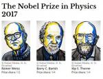 诺贝尔物理学奖揭晓 三位科学家因引力波获奖 - 科学技术厅