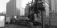 """防地铁沉降 东一环快速路高架桩基穿40米长""""钢靴"""" - 辽宁频道"""