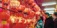 春节临近 市民选购年货红红火火过大年 - 辽宁频道