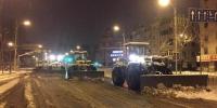 为保交通顺畅 和平区环卫工人今天凌晨2时开始作业 - 新浪辽宁