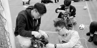 沈阳城市学院首战机器人世界杯中国赛夺冠 - 辽宁频道