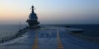 我国第二艘航母完成首次出海试验返回大连 - 新浪辽宁