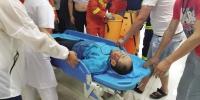 大连:男子掉下5米高大坝受伤严重 - 辽宁频道