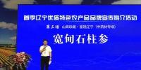 宽甸石柱参在首季辽宁优质特色农产品品牌系列活动上显神奇魅力 - 中国在线